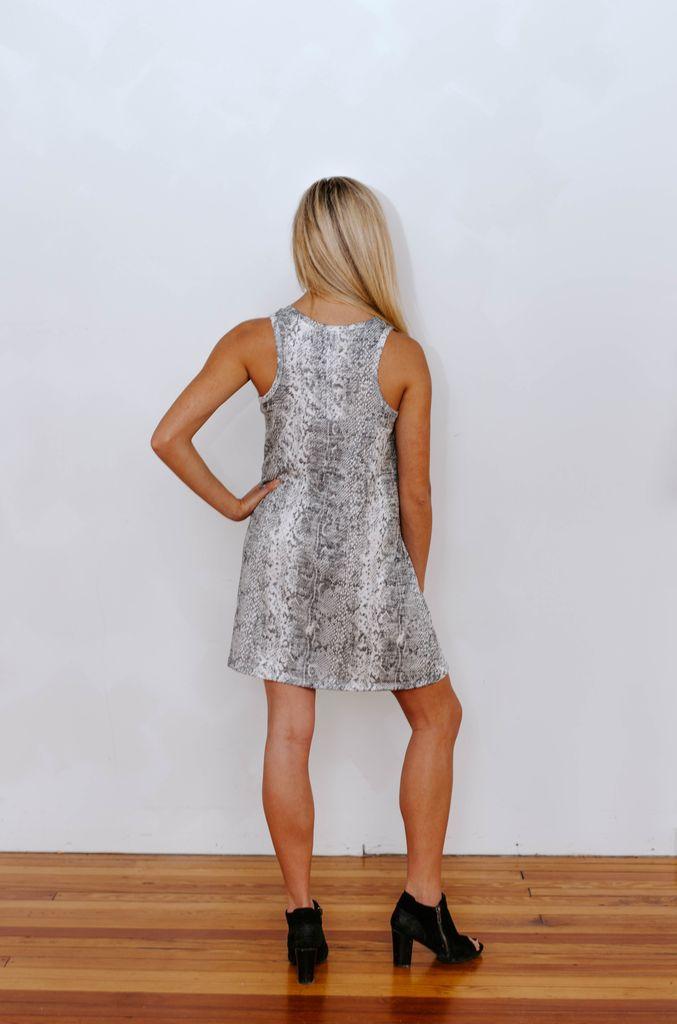 Z Supply The Snakeskin Breezy Dress