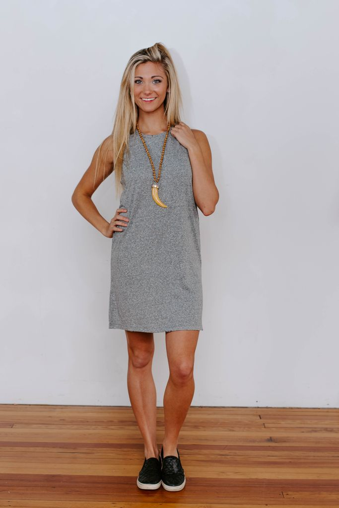 Z Supply The Triblend Muscle Dress