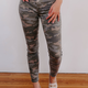 Hudson Barbara High Waist Super Skinny Ankle in Surplus Camo