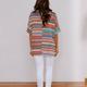 Striped Knit Top