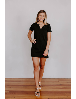 d505cc5e0faf4 Z Supply The Paige Cotton Slub T-Shirt Dress