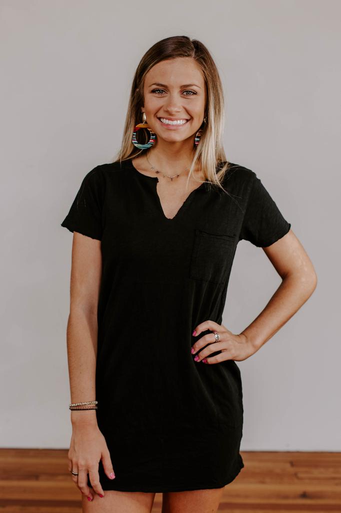 Z Supply The Paige Cotton Slub T-Shirt Dress