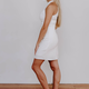 She & Sky Halter Bodycon Knit Dress