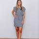 Z Supply The Capri Ruffle Sleeve Dress