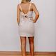 Karlie Multi Stripe Knot Back Dress