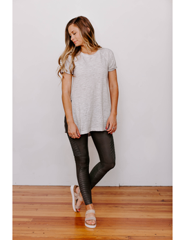 Z Supply The Airy Slub Slit Tunic
