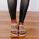 Not Rated Asuma Platform Sandal