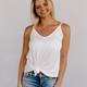 Karlie Double V-Neck Cami Tank