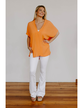 Karlie Solid Signature V-Neck Tunic