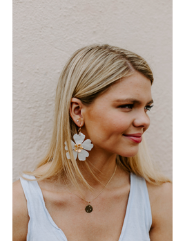 Acrylic Flower Earrings