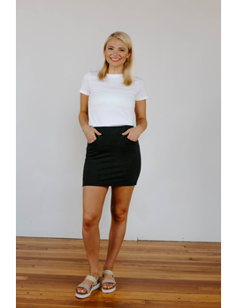 Z Supply The Knit Mini Skirt