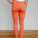 Hudson Barbara High Rise Super Skinny Jean in Flamingo