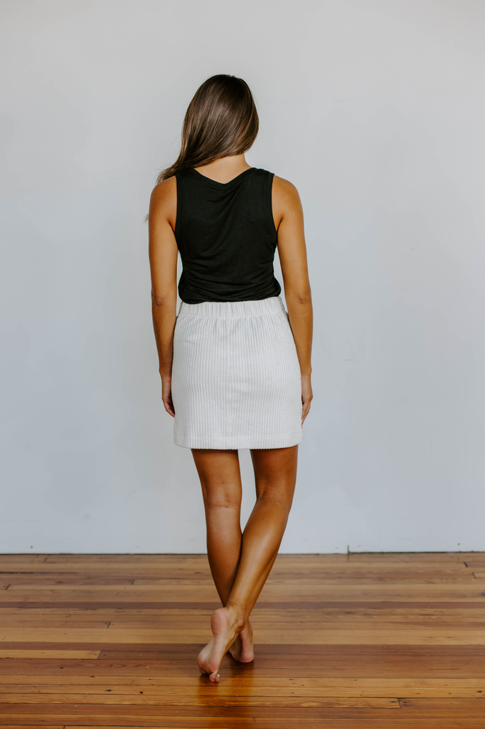 Z Supply The Wide Wale Corduroy Skirt