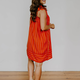 Stripe Smocked Mini Dress