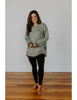 Brushed Boxy Tunic Top
