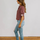 Karlie Stripe Pocket Top