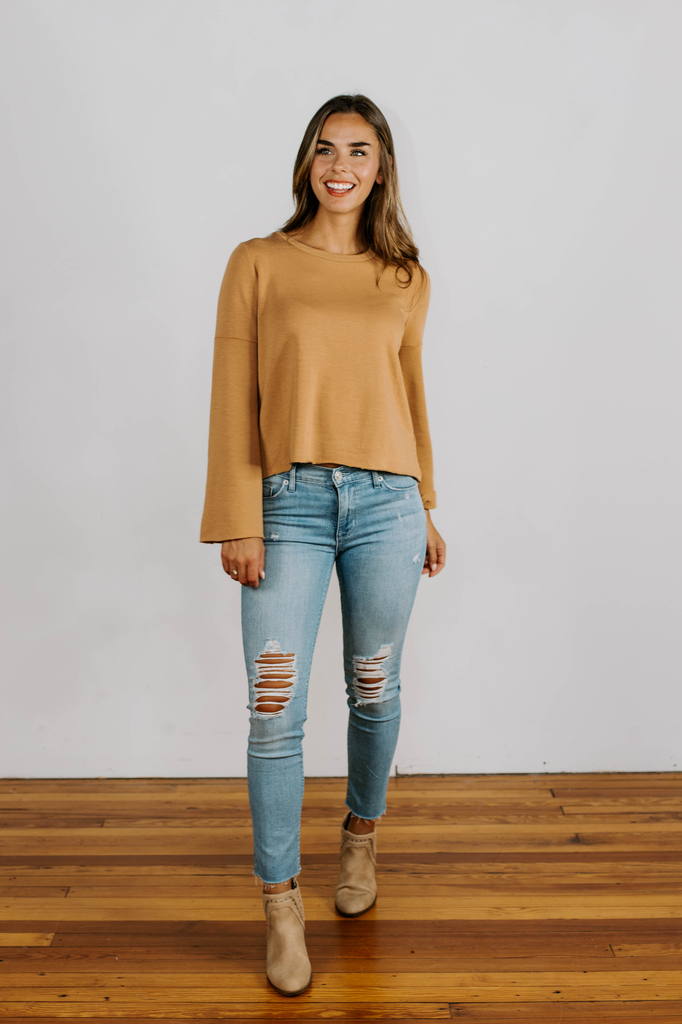 Francis Fleece Top