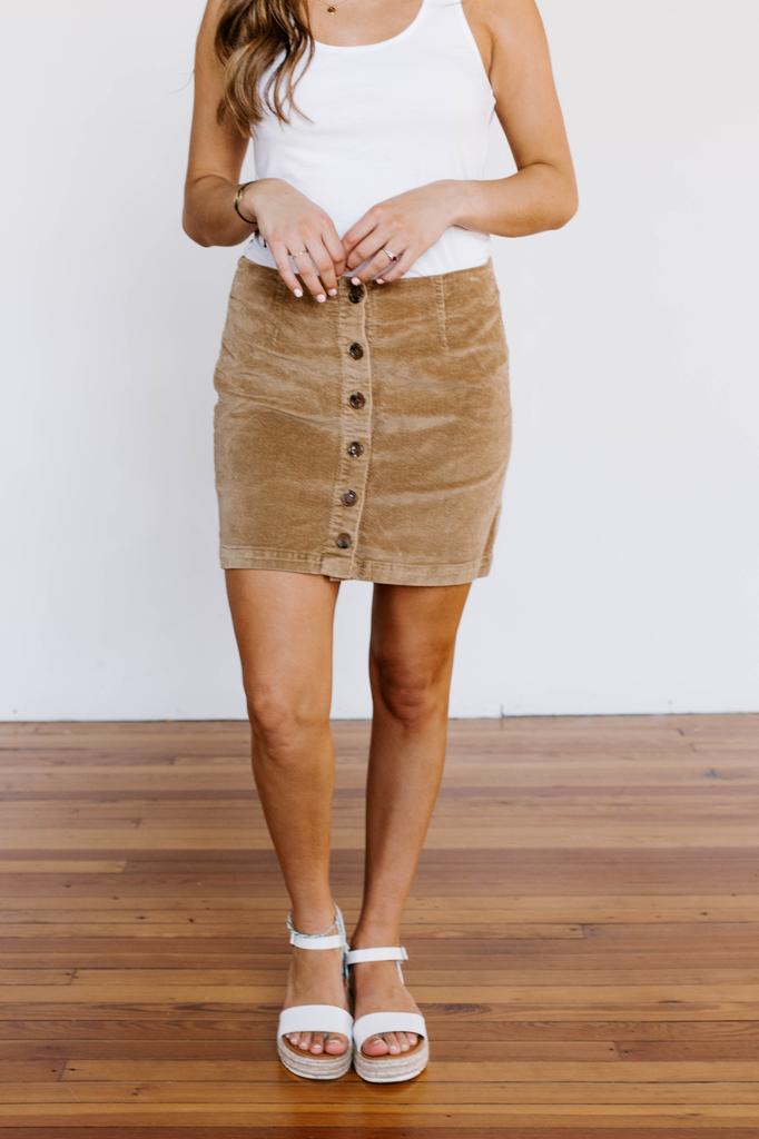Petra Corduroy Skirt