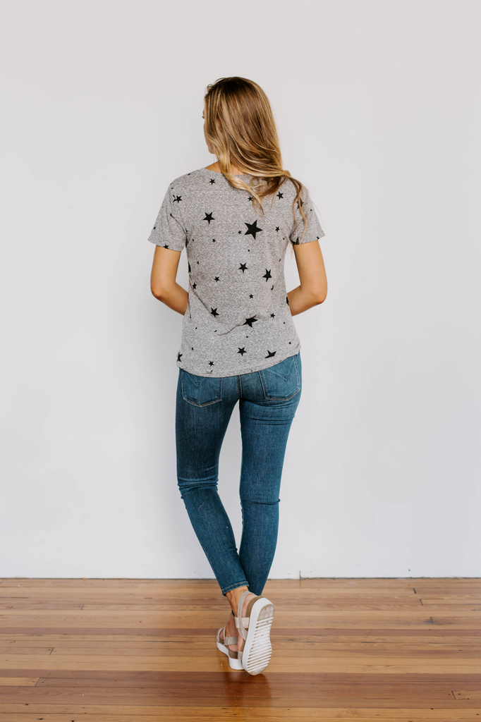 Z Supply The Triblend Scatter Star Tee