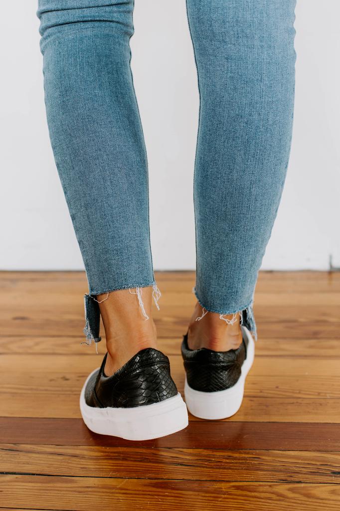 Gradient Slip On Sneaker