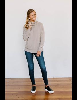 Karlie Novelty Sweater Hoodie