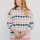 Heart Printed Sweater