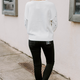 THML Drop Shoulder Dotted Sweater