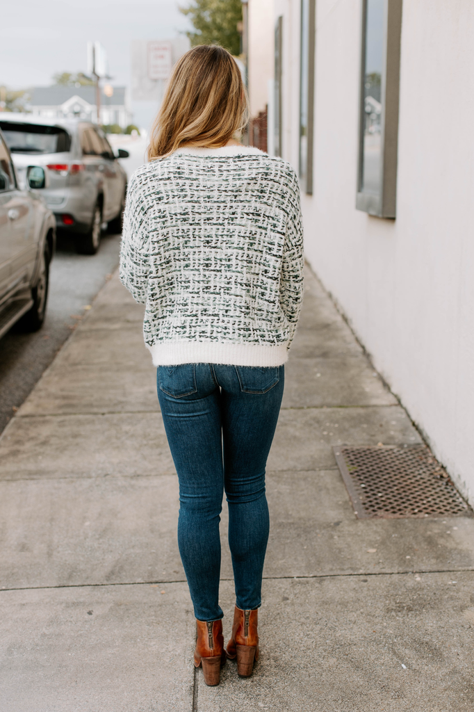 Weave Pattern Sweater