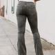 Karlie Denim Pull On Flare Jean