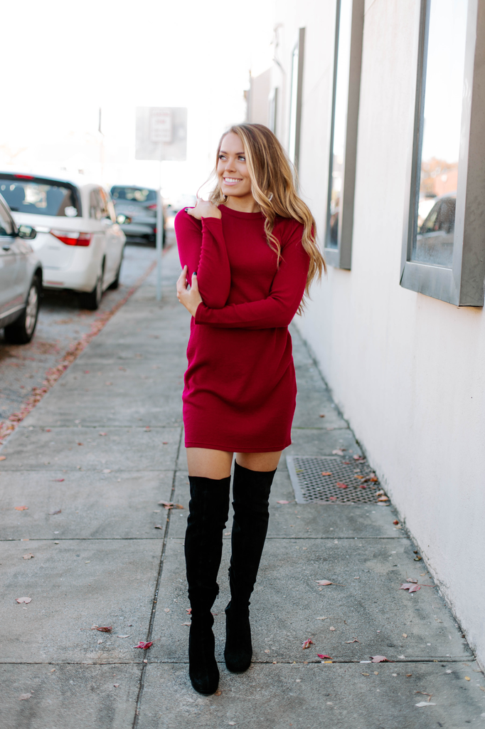 Z Supply The Thermal Long Sleeve Dress
