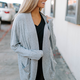Z Supply The Marled Sweater Knit Cocoon Cardigan