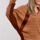 Dolman Sleeve Waffle Knit Top