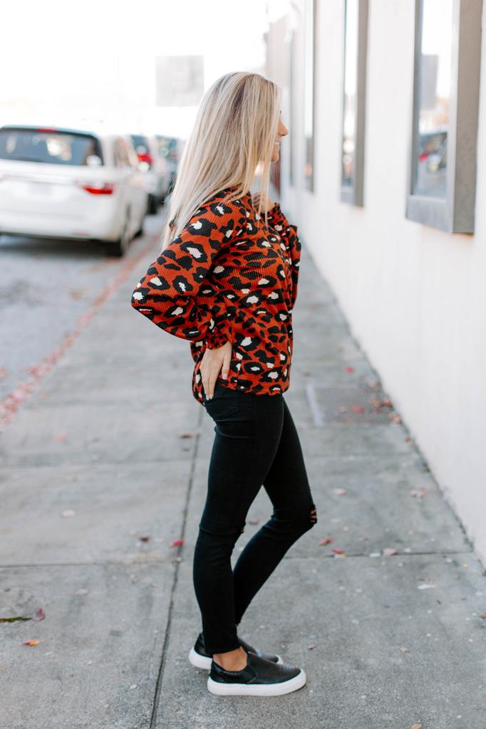 Karlie Leopard Hoodie