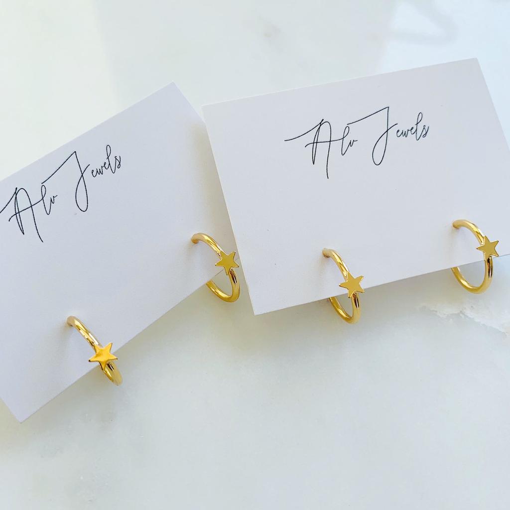 ALV Jewels Allie Mini Hoops