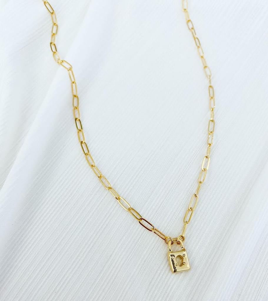 ALV Jewels Little Lock Necklace