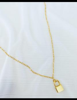ALV Jewels Lock Necklace