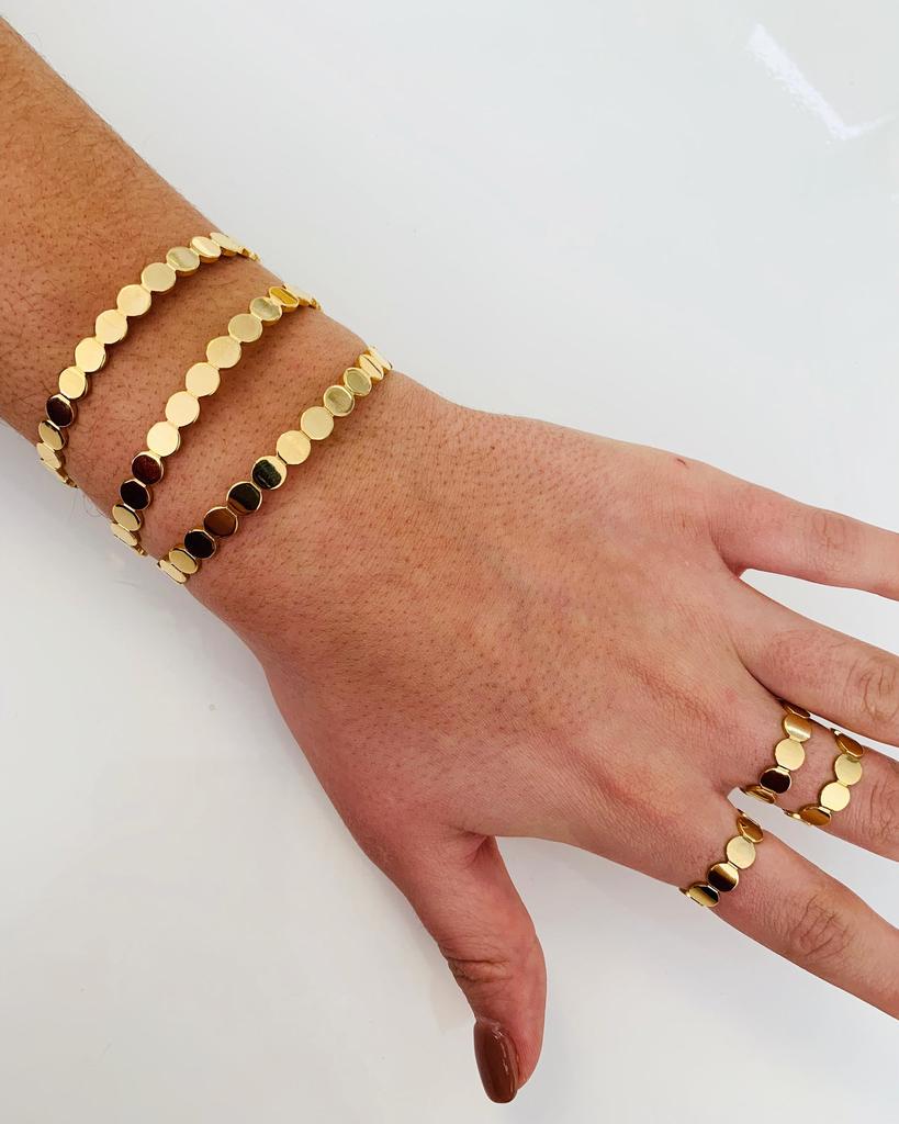 ALV Jewels Gold Dot Bracelet