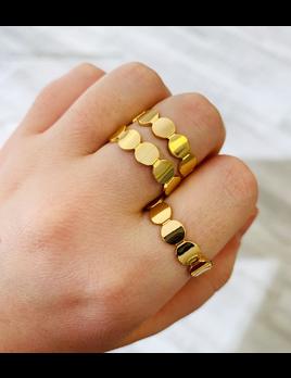 ALV Jewels Gold Dot Ring