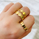 ALV Jewels Gold Dot Ring