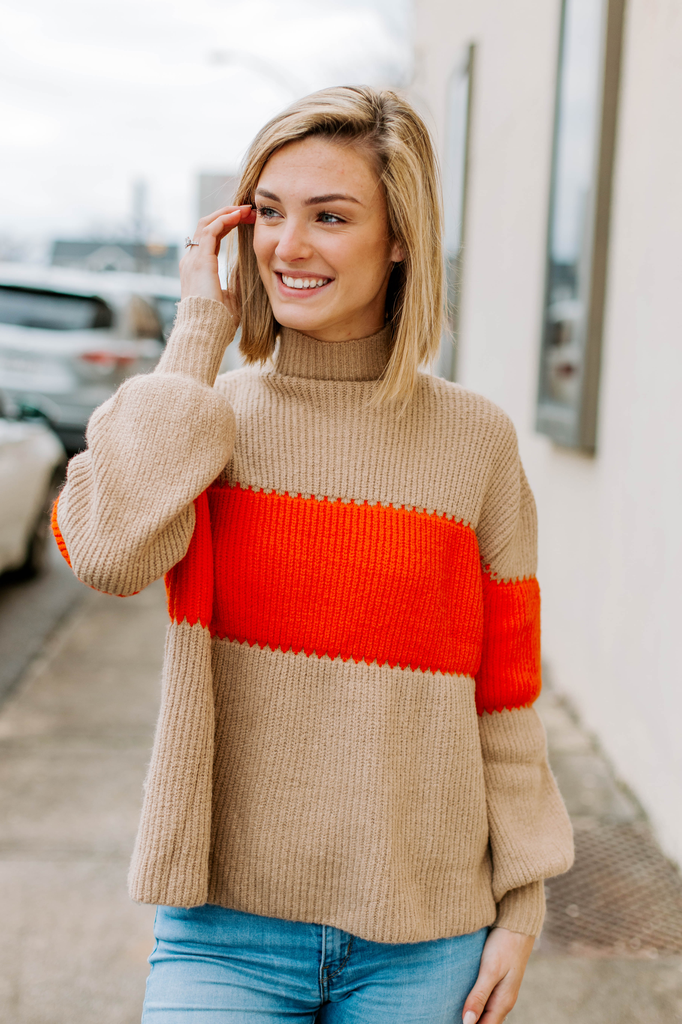 THML Colorblock Sweater