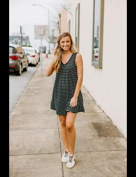 Z Supply Yuma Stripe Linen Breezy Dress
