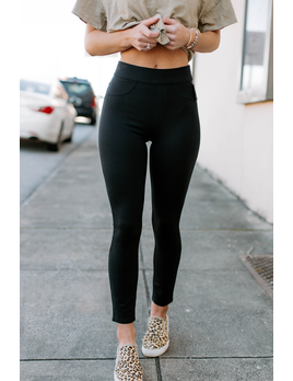 The Perfect Black 4-Pocket Pant
