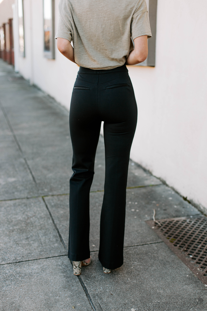 The Perfect Black Pant High Rise Flare