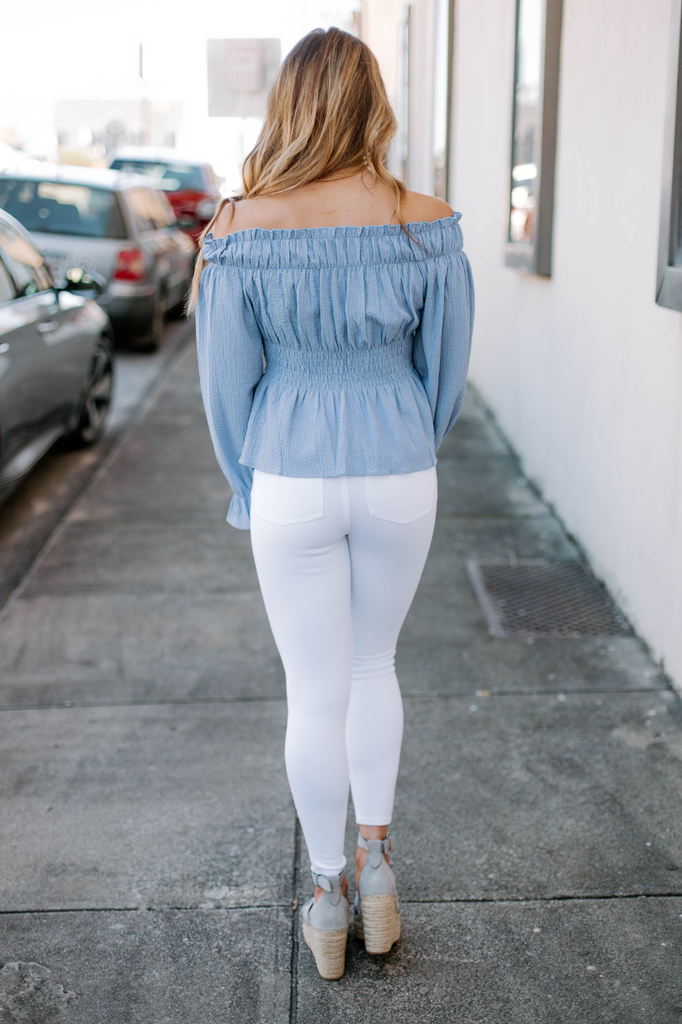Sabrina Off Shoulder Top