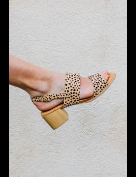 Cheetah Print Chunky Heels