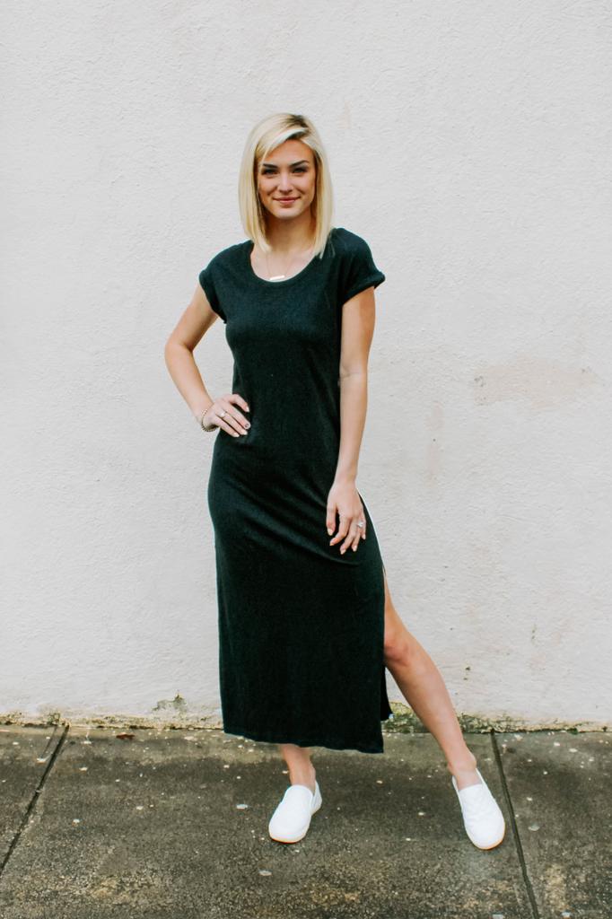 Sonora Side Stripe Dress