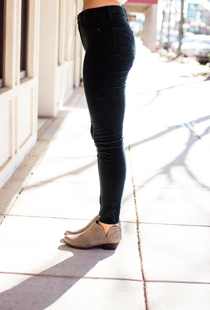 Hudson Barbara High Rise Super Skinny in Agave