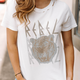 White Tiger Rebel Vintage Graphic Tee
