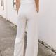 Karlie Linen Gauze Drawstring Pants