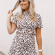 Karlie Leopard Smock Dress